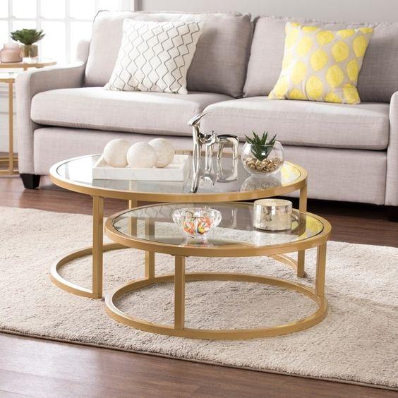 Tại sao nên chọn mẫu bàn sofa tròn cho gia đình