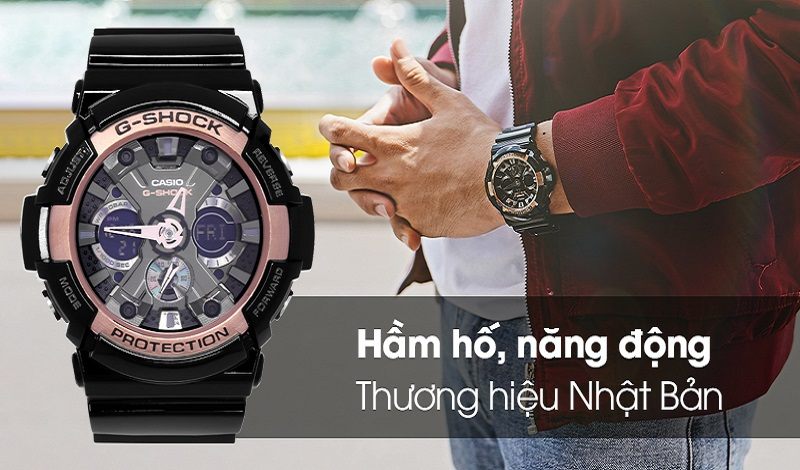 Đồng hồ G-Shock màu đen – sự lựa chọn hàng đầu của phái mạnh